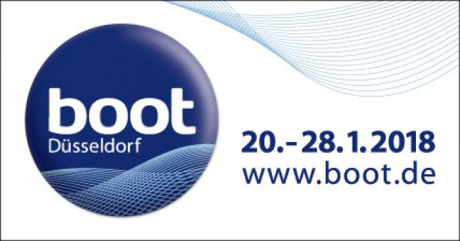 Posidonia anchors at boot Düsseldorf 2018
